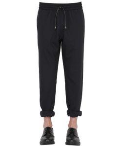 BERNARDO GIUSTI | Stretch Wool Jogging Pants