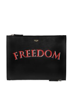 BERTONI 1949 | Hand-Painted Freedom Leather Pouch