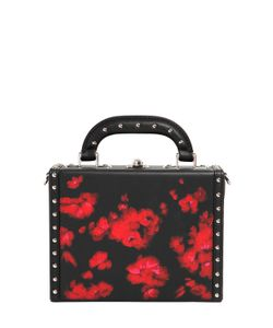 BERTONI 1949 | Squared Bertoncina Floral Leather Bag