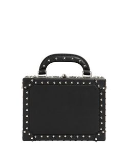 BERTONI 1949 | Squared Bertoncina Studded Leather Bag