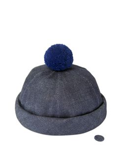 Béton Ciré | Handmade Sailor Hat W/ Pompom