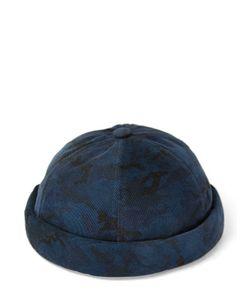 Béton Ciré | Handmade Camo Printed Velvet Sailor Hat