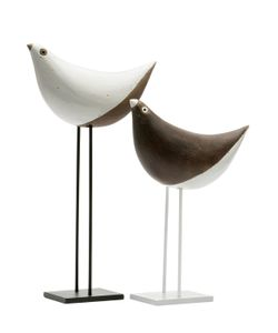 BITOSSI CERAMICHE | Arkitectura Two Tone Couple Of Birds