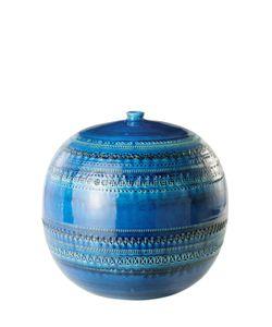 BITOSSI CERAMICHE | Rimini Blu Sphere Vase With Lid