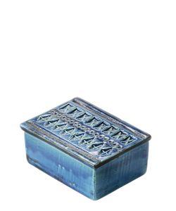 BITOSSI CERAMICHE | Rimini Blu Ceramic Box With Lid