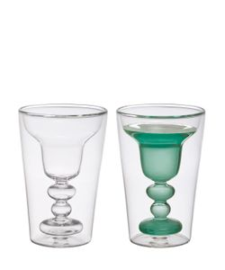 BITOSSI HOME | Set Of 2 Margarita Glasses