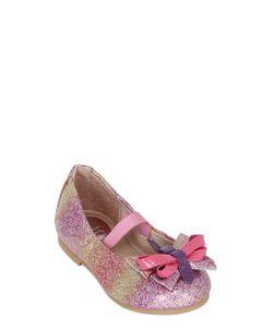 Bloch   Glittered Patent Leather Ballerinas