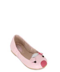Bloch   Pig Nappa Leather Ballerinas