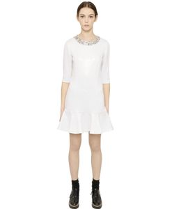 Blugirl | Sequined Viscose Jersey Dress