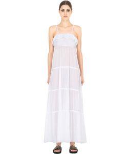 Blugirl Beachwear | Tiered Cotton Voile Maxi Dress