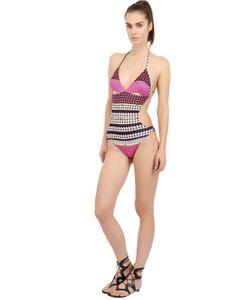 Blugirl Beachwear | Printed Lycra One Piece Swimsuit