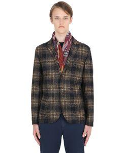Bob | Plaid Wool Jersey Blend Jacket