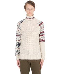 Bob | Cable Knit Wool Blend Turtleneck