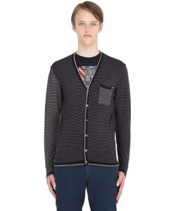 Bob | Striped Wool Cardigan
