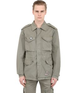 Bob | Light Cotton Gabardine Military Jacket