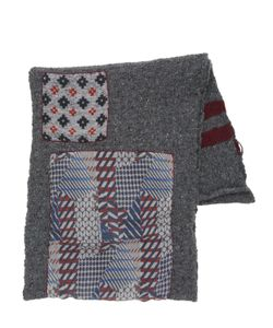 Bob | Wool Blend Scarf W/ Patches
