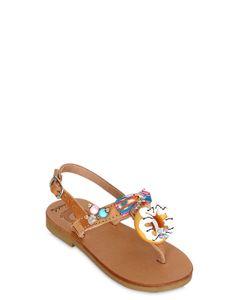 BONBON | Sweet Melody Leather Sandals