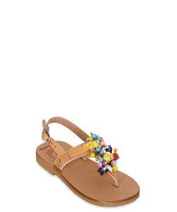 BONBON | Sylvester Tweety Leather Sandals