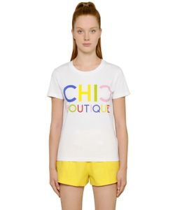 BOUTIQUE MOSCHINO | Chic Boutique Cotton Jersey T-Shirt