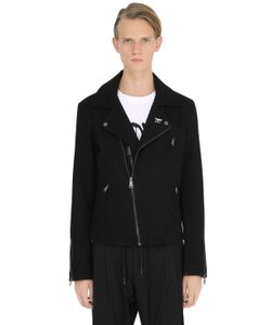 BOY BY BOY LONDON | Wool Cloth Biker Jacket