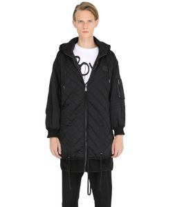 BOY BY BOY LONDON | Oversized Quilted Nylon Jacket