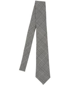 BRAM | Prince Of Wales Tie With Printed Tipping