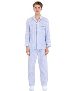 Brooks Brothers | Striped Cotton Pajama Shirt Pants