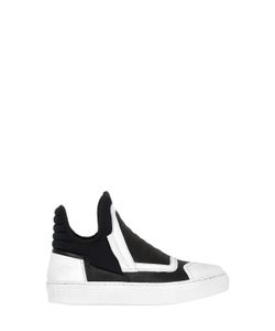 BRUNO BORDESE NEXT GENERATION | Neoprene Leather Sneakers