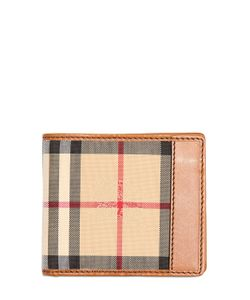 Burberry | Classic Check Nylon Leather Wallet