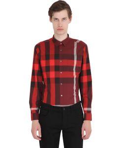 Burberry Brit | Macro Check Shirting Cotton Shirt