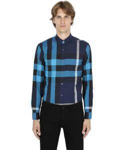 Burberry Brit | Macro Check Shirting Cotton Shirt
