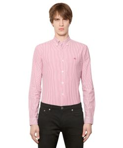 Burberry Brit | Striped Stretch Cotton Poplin Shirt