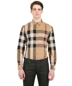 Burberry Brit | Macro Checked Cotton Shirt