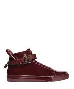 Buscemi | Clip Patent Leather High Top Sneakers