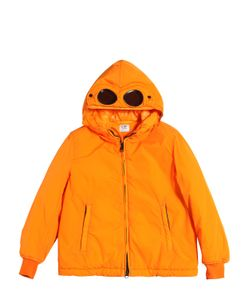 C.P.COMPANY UNDERSIXTEEN   Water Resistant Nylon Puffer Jacket
