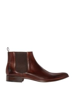 CALZOLERIA TOSCANA | Elastic Insert Leather Ankle Boots