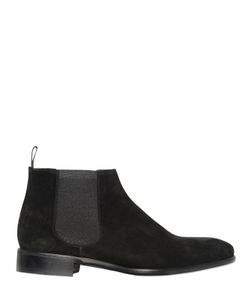 CALZOLERIA TOSCANA | Elastic Insert Suede Ankle Boots