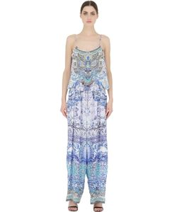 Camilla | Printed Silk Jumpsuit