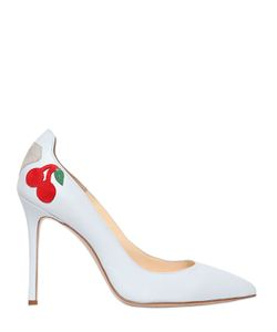 CAMILLA ELPHICK | 105mm Cherry Nappa Leather Pumps