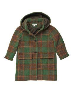 CARAMEL BABY AND CHILD   Felt Wool Hooded Coat