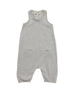 CARAMEL BABY AND CHILD   Cotton Linen Blend Jersey Romper