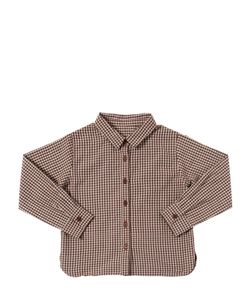CARAMEL BABY AND CHILD   Check Cotton Oxford Shirt
