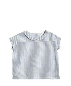CARAMEL BABY AND CHILD   Striped Cotton Garza Shirt