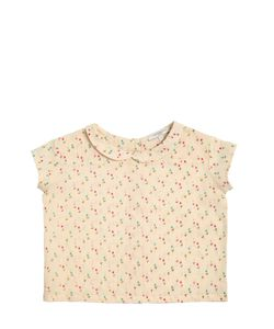 CARAMEL BABY AND CHILD   Tulips Printed Cotton Muslin Shirt