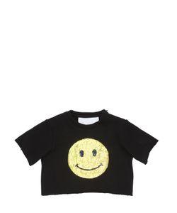 CAROLINE BOSMANS | Smile Printed Cotton Jersey T-Shirt