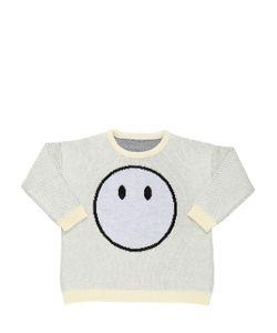 CAROLINE BOSMANS | Knitted Cotton Jacquard Sweater