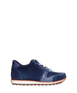 CARTA VETRATA | Leather And Suede Running Sneakers