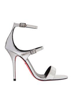 CARVELA KURT GEIGER | 110mm Giddy Mirror Faux Leather Sandals