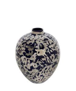 CERAMICA GATTI 1928 | Navy Platinum Ceramic Vase