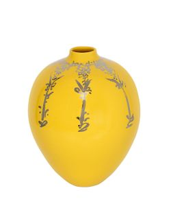 CERAMICA GATTI 1928 | Yellow Platinum Ceramic Vase